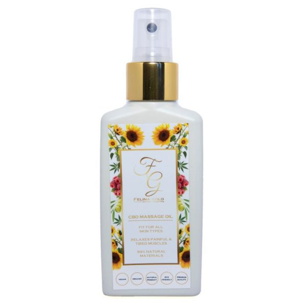 Felina Gold CBD massage oil