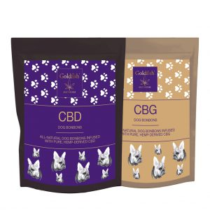 Goldfish Amsterdam snackbox CBD & CBG for dogs