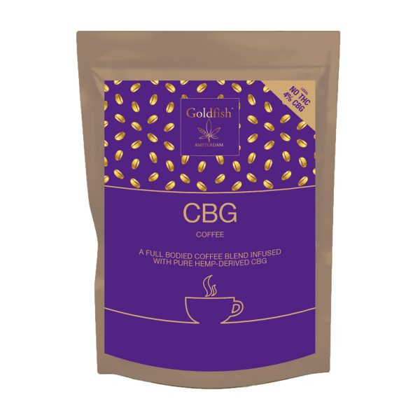Goldfish Amsterdam 4% CBG decaffeinated coffee