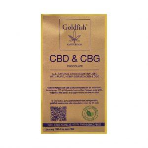 GOLDFISH AMSTERDAM CBG & CBD CHOCOLATE